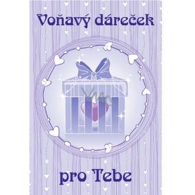 Bohemia Vonný sáček Voňavý dáreček pro Tebe P7 Levandule 17 x 11,5 x 1,5 cm