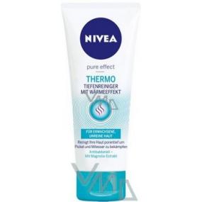 Nivea Visage Pure Effect Thermo samohřejivý hloubkově čisticí gel 100 ml