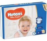 Huggies Ultra Comfort Jumbo velikost 3 5-8 kg plenkové kalhotky 58 kusů