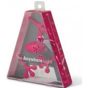If The Anywhere Light Multifunkční lampička růžová 125 x 35 x 150 mm