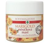 Bohemia Gifts & Cosmetics Marigold Měsíčková mast s extrakty z měsíčku lékařského 120 ml