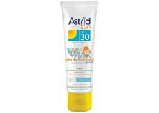 Astrid Sun Baby OF30 krém na opalování na obličej a tělo 75 ml