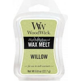 WoodWick Willow - Vrbové květy vonný vosk do aromalampy 22.7 g