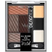 Miss Sporty Designer All in One Eye Palette paleta očních stínů 300 9,5 g