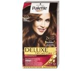 Schwarzkopf Palette Deluxe barva na vlasy 555 Zářivě hnědý 115 ml