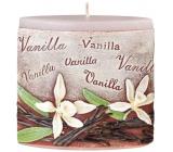 Emocio Vanilka Vanilla vonná svíčka elipsa 110 x 45 x 110 mm