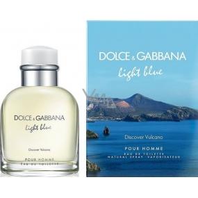 Dolce & Gabbana Light Blue pour Homme Vulcano toaletní voda 40 ml