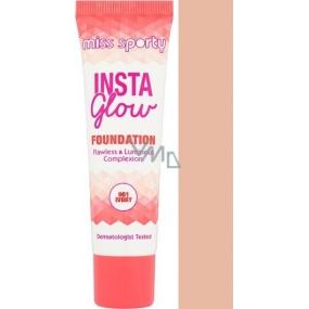 Miss Sporty Insta Glow Foundation make-up 001 Ivory 30 ml