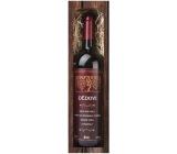 Bohemia Gifts & Cosmetics Merlot Dědovi dárkové víno 750 ml