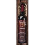 Bohemia Gifts Merlot Dědovi dárkové víno 750 ml