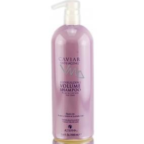 Alterna Caviar Volume Bodybuilding Shampoo Kaviárový šampon pro trvalý objem vlasů MAXI 1000ml
