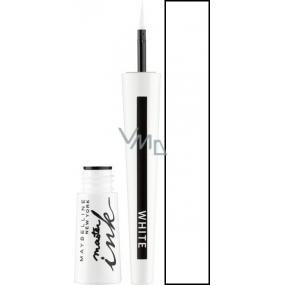 Maybelline Master Ink Liquid Eyeliner oční linky 11 Matte White 3 g