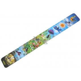 Dětský metr Krteček papírový na pověšení do 150 cm