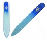 Blasé Blue G Pilník skleněný modrý 9 cm