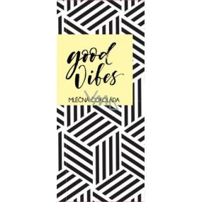 Albi Dárková mléčná čokoláda Good Vibes 50 g 14 x 6 cm