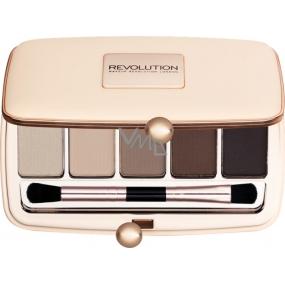 Makeup Revolution Renaissance Day paletka očních stínů 5 x 1 g