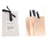 Millefiori Milano Laundry Jonquille - Narcis vonná karta 3 kusy