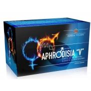 Aphrodisia V pro muže pro zkvalitnění erekce a zvýšení sexuální touhy a výkonu, doplněk stravy 60 kapslí