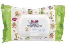 HiPP Babysanft Vlhčený toaletní papír pro citlivou pokožku 50 kusů