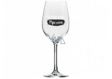 Albi Můj Bar Mega sklenice na víno Šetřím vodu, piju víno 670 ml