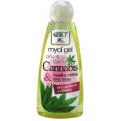 Bione Cosmetics Bio Cannabis mycí gel pro intimní hygienu 260 ml