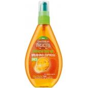 Garnier Fructis Miraculous Oil Brushing Express Arganový olej pro vlasy vystavené horku 150 ml spray