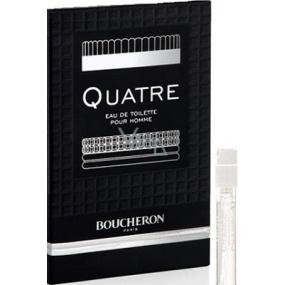 Boucheron Quatre pour Homme toaletní voda 2 ml s rozprašovačem, vialka