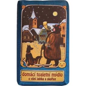 Bohemia Gifts & Cosmetics Josef Lada Jablko a Skořice domácí toaletní mýdlo 100 g