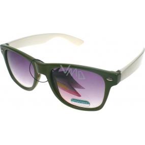 Fx Line Sluneční brýle zelené 023128