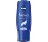 Nivea Hairmilk Pečující kondicionér pro normální vlasy 200 ml