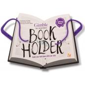 If Gimble Adjustable Bookholder Držák na knihu Cestovní fialový 340 x 240 x 20 mm