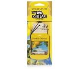 Yankee Candle Sicilian Lemon - Sicilský citrón Classic vonná visačka do auta papírová 12 g