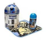 Disney Star Wars R2D2 sprchový koupelový gel 100 ml + flanelový ubrousek, dárkový set expirace 01/2017