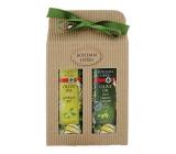 Bohemia Gifts & Cosmetics Olivový olej, hroznový olej a extrakt z citrusů olejový sprchový gel 250 ml + olejový šampon na vlasy 250 ml, kosmetická sada