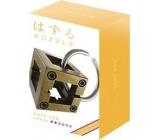Huzzle Cast Box kovový hlavolam, obtížnost 2