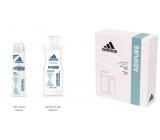 Adidas Adipure deodorant sprej pro ženy 150 ml + sprchový gel 250 ml, kosmetická sada