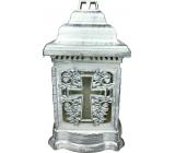 Admit Lampa skleněná Kříž 25 cm 24 hodin 100 g 207 LA