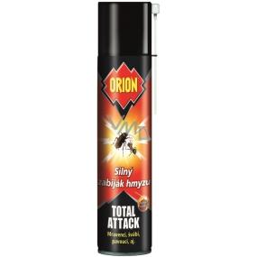 Orion Total Attack Silný zabiják hmyzu mravenci, švábi sprej 400 ml