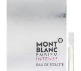Mont Blanc Emblem Intense toaletní voda pro muže 1,2 ml s rozprašovačem, Vialka