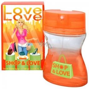 Love Love Shop & Love toaletní voda pro ženy 60 ml