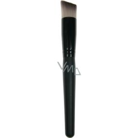Kosmetický štětec na make-up šikmý 30450 18 cm