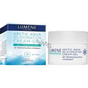 Lumene Arctic Aqua 3D Hydration Cream-Gel Hydratační krémový gel pro mastnou/smíšenou pleť 50 ml