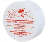 Mavala Nail Polish Remover Pads jednorázové odlakovací tampóny 30 kusů