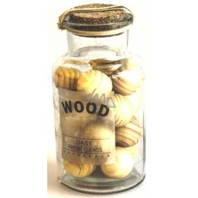 Albi Sedmikráska a Tráva, Dekorativní dřevo koule ve skle