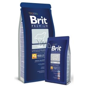 Brit Premium Light pro dospělé psy s problémy s nadváhou 3 kg Kompletní krmivo