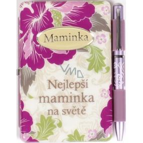 Albi Notýsek s perem Maminka 100 x 80 x 20 mm