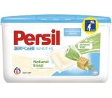 Persil Duo-Caps Sensitive gelové kapsle na bílé a stálobarevné prádlo 15 x 25 g 15 dávek