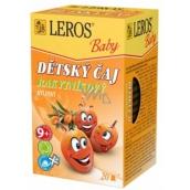 Leros Baby Rakytníkový bylinný čaj k obranyschopnosti, trávení pro děti 20 x 2 g