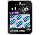 Essence Nails In Style umělé nehty 06 Across The Universe 12 kusů