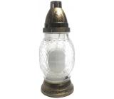 Polplast Lampa skleněná Kříž 90 g 23,5 cm K-672